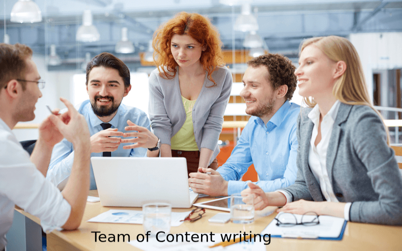 Team For Content Writing Services